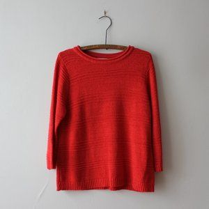 2/20$ Allison Daley Red Sweater